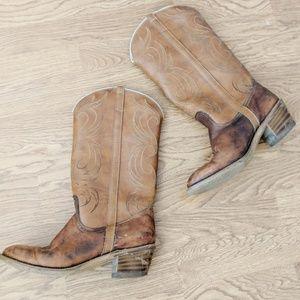 Dingo Western Style Cowboy Boots Size 8.5